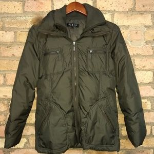 Steve by Searle hooded down coat
